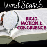 Word Search RIGID MOTION and CONGRUENCE