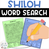 Shiloh by Phyllis Reynolds Naylor Word Search Activity