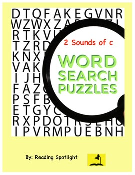 Word Search: Sounds of C