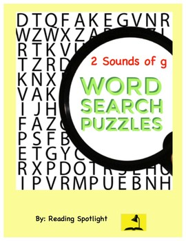 Word Search: Sounds of G