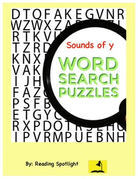 Word Search: Sounds of Y