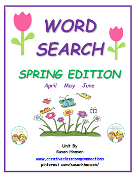 Word Search: Spring
