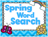 Word Search ~ Spring Theme
