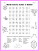 Science Word Search: States of Matter