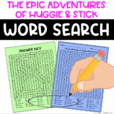 Word Search - The Epic Adventures of Huggie & Stick - Fun Bell Ringer! {NO PREP}
