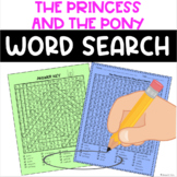The Princess and the Pony Word Search FREE
