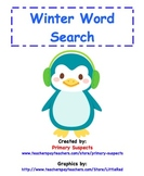 Word Search Winter