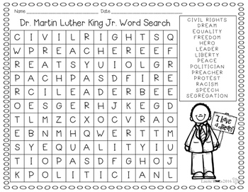Word Search - Winter Theme