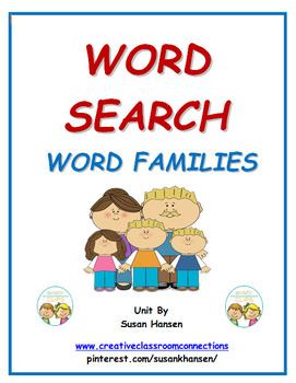 Word Search: Word Families