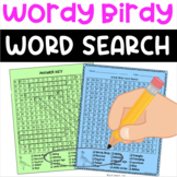 Wordy Birdy Word Search
