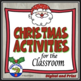 Christmas Activities - Print and Go Christmas Activity Packet