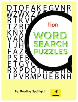Word Search: tion