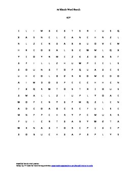 Word Search- /s/ blends initial position