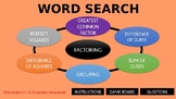 Word Search with Factoring