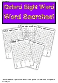 Word SearchES! Oxford Sight word first 100 words.