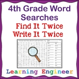 4th Grade Morning Work Word Searches Spelling Practice