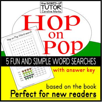 {HOP ON POP activities} {dr seuss} {read across America}