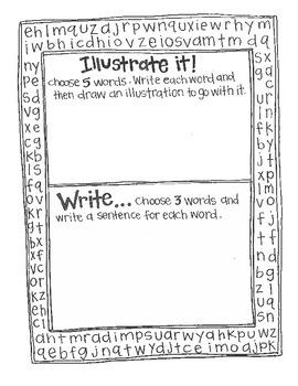 Word Searches:  Language Arts Fun