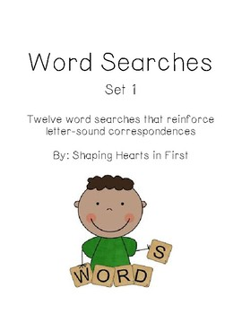Word Searches - Set 1