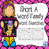 Word Searches ( Short A Word Families)
