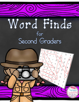 Word Searches: Word Finds for Second Graders