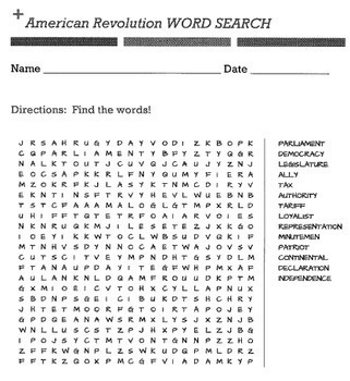 100 Word Searches for Middle School