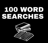 100 Word Searches for Middle & High School