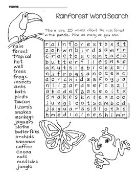 Word Searches - just for fun