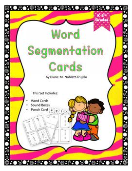 Word Segmentation Cards