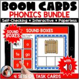 Word Segmenting Sound Boxes Bundle | CVC, CVCe, Bossy R an