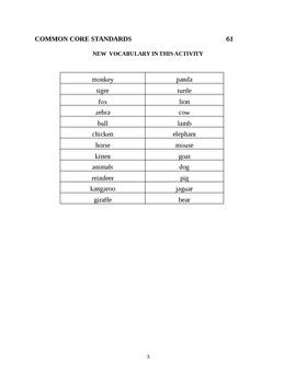 Word Shape Exercises and Alphabetizing