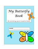 Word Shapes Articulation Butterfly Books