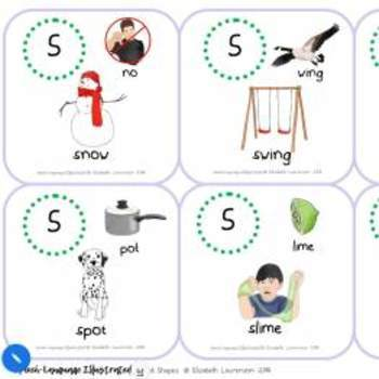 Word Shapes Pack - Illustrations for Apraxia and Phonologial Awareness