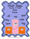 Word Shapes - Puzzles and Cards!  Dolch Primer