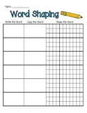 Word Shaping Paper