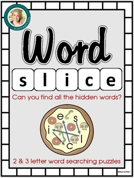 Word Slice- A Word Searching Puzzle Game