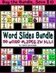Word Slide FREEBIE:  -ut family  (Word Families Activity)