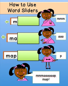 Word Sliders  CVC Decoders