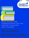 Word Solving & Comprehension Bookmark (English & Spanish)