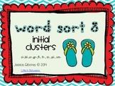 Word Sort 8- Initial Clusters