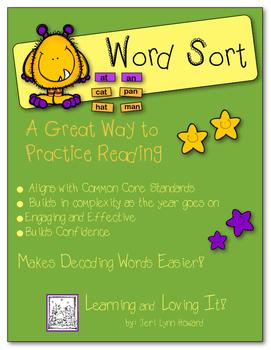 """Word Sort"" -  Sorting Words According to Phonetic Elements"