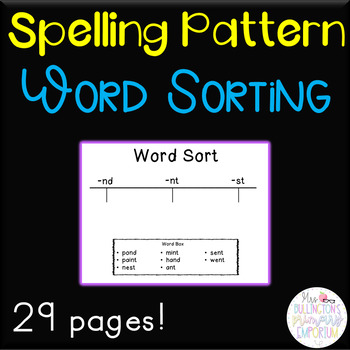 Word Sort Activity Set