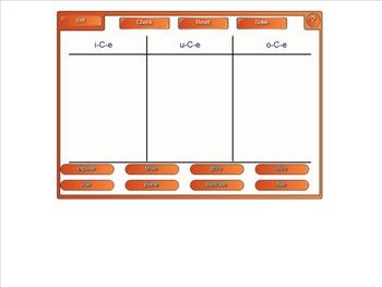 Word Sort Activity for v-C-e Spelling Patterns #2