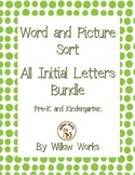 Word Sort All Initial Letters Bundle