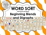 Word Sort - Beginning Blends and Digraphs