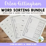 Orton-Gillingham Activities: Word Sorts Multisensory Reading and Spelling