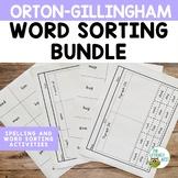 Orton-Gillingham Activities: Word Sorts Multisensory Readi