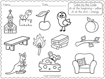 Word Sort Bundle Set 3  1st Grade