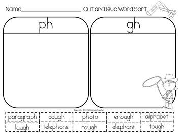 Word Sort Bundle Set 5  2nd Grade