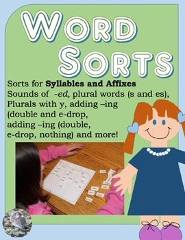 Word Sort Bundle for Syllables and Affixes